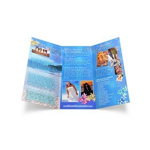 "Tri-Fold Brochure, 3.5"" x 8.5"" Finished Size"