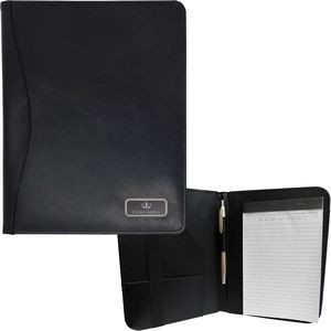 Red Rock Bonded Meeting Folder with Pen